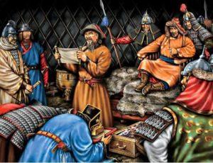 Политическая обстановка на окраинах Золотой Орды