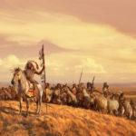 Индейцы объединяются в войне против белых