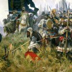 Русские войска на Куликовом поле
