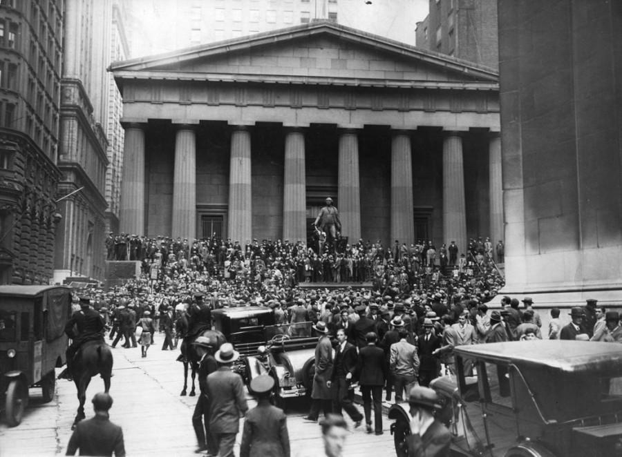 Обвал фондового рынка 1929 года