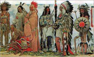 Боевые операции индейцев