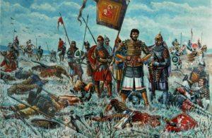 Трон Золотой орды после ухода Мамая мурзы