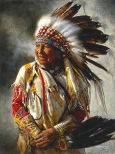 Вождь индейцев