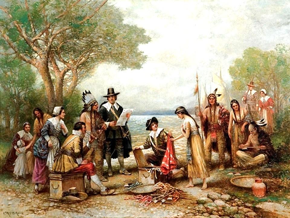 Скупка индейских земель
