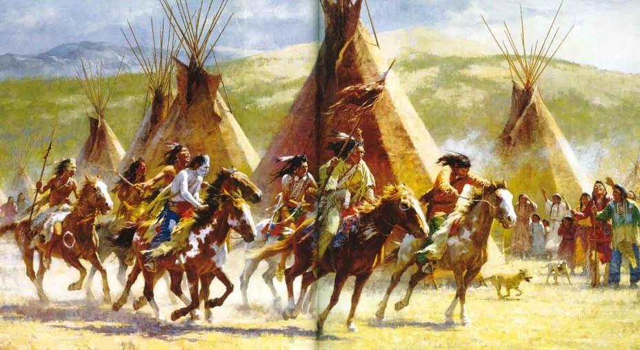 Индейцы прерий