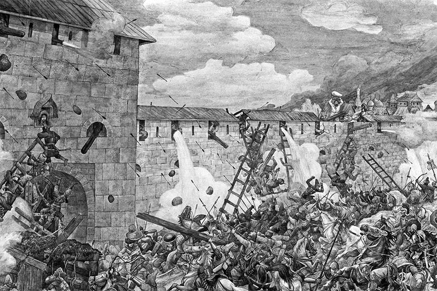 Начало Московского похода