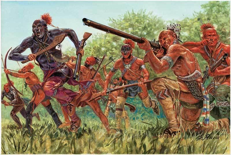 Организация индейской армии