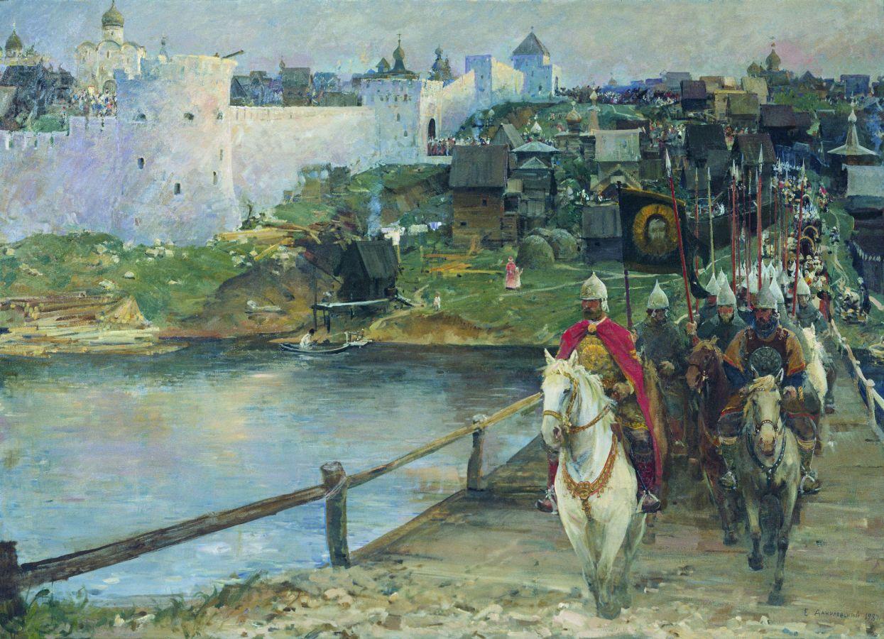 Побег Дмитрия Донского из Москвы