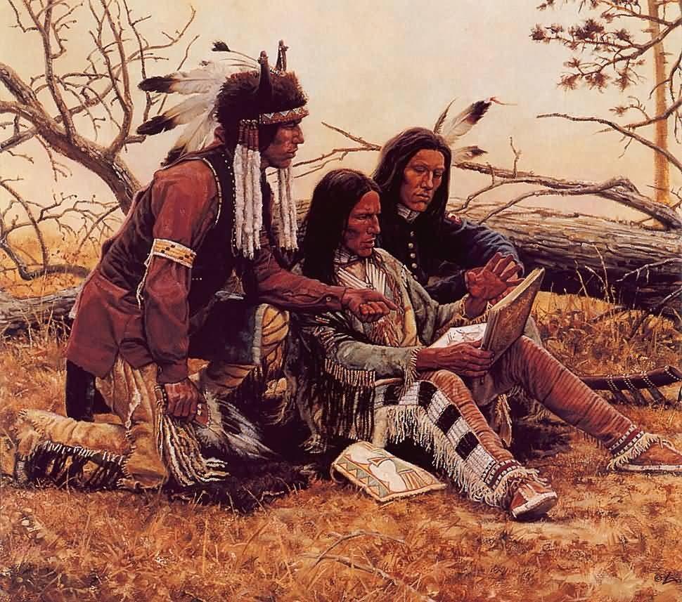 Поражение индейцев