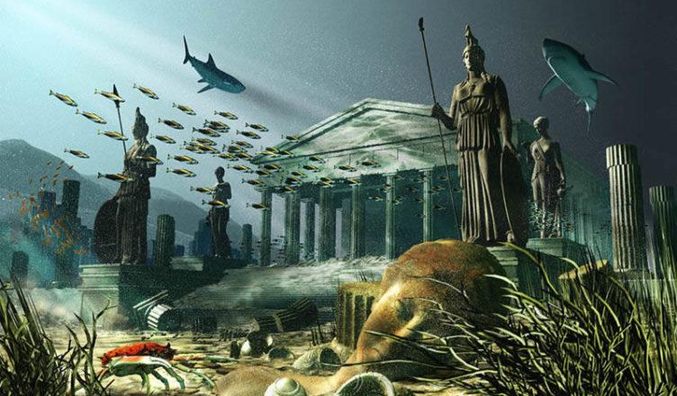 Затерянный город Атлантида
