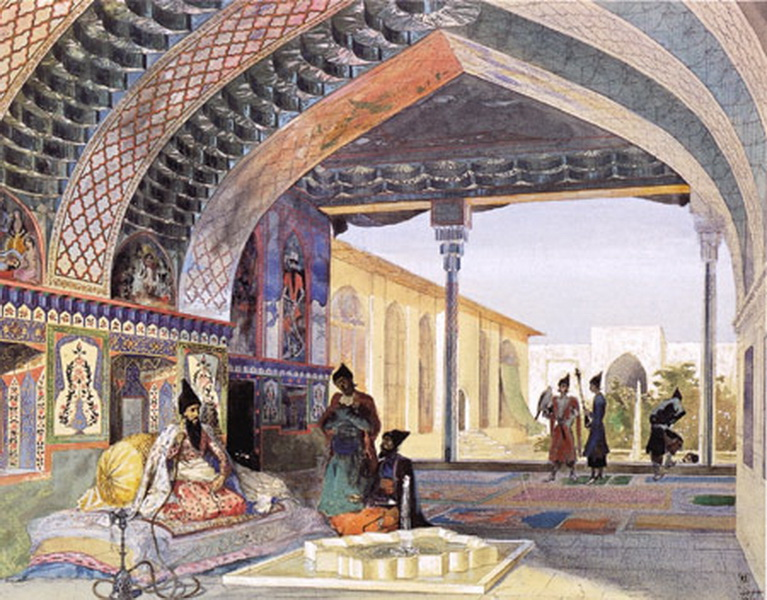 дворец хана