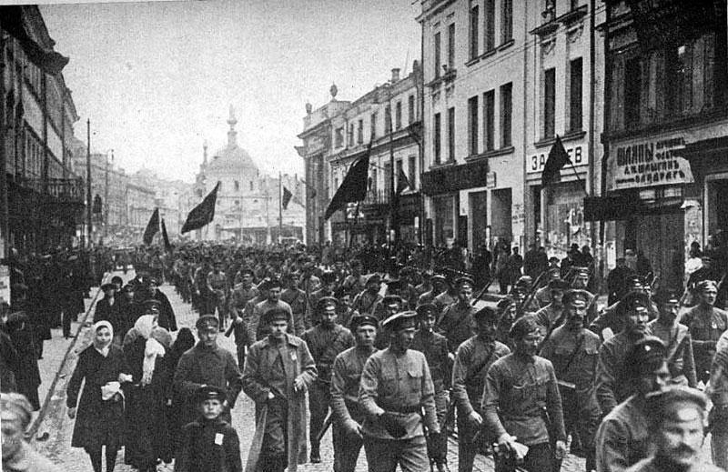 Гнев рабочих 1917