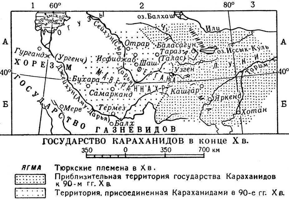 Тюркское государство Караханидов