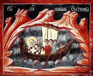 Николай Чудотворец спасет от бури