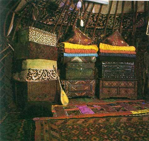 одеяла и сундуки