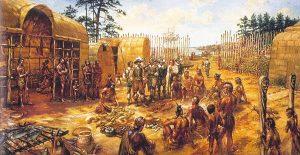 Проблемы первых поселенцев в Джеймстауне