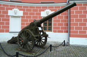 пушка, используемая при обстреле кремля