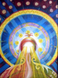 Солнцеголовое Божество Тенгри