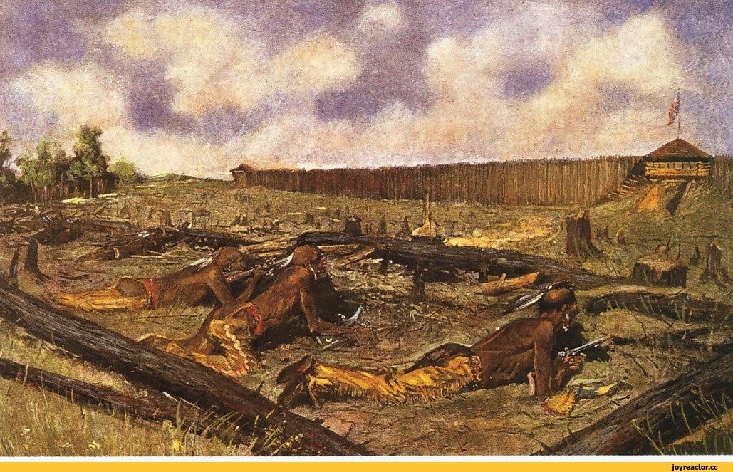 Взятие английских фортов