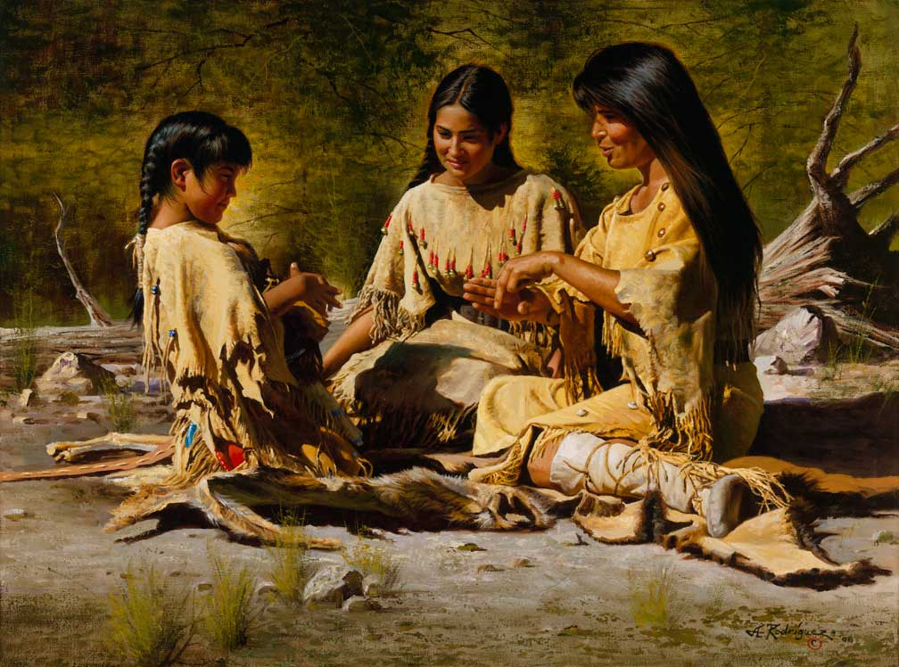 an essay on native american women