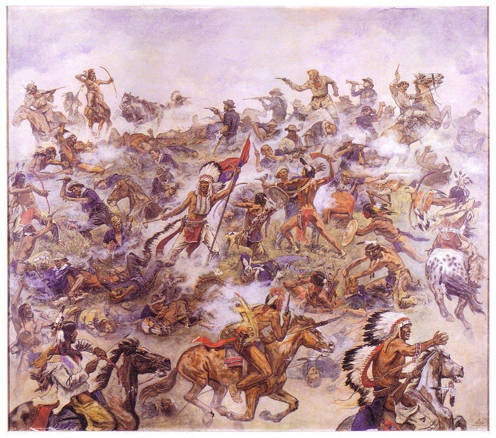 Атака индейцев