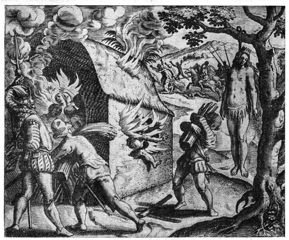 Смерть королевы Анакоаны