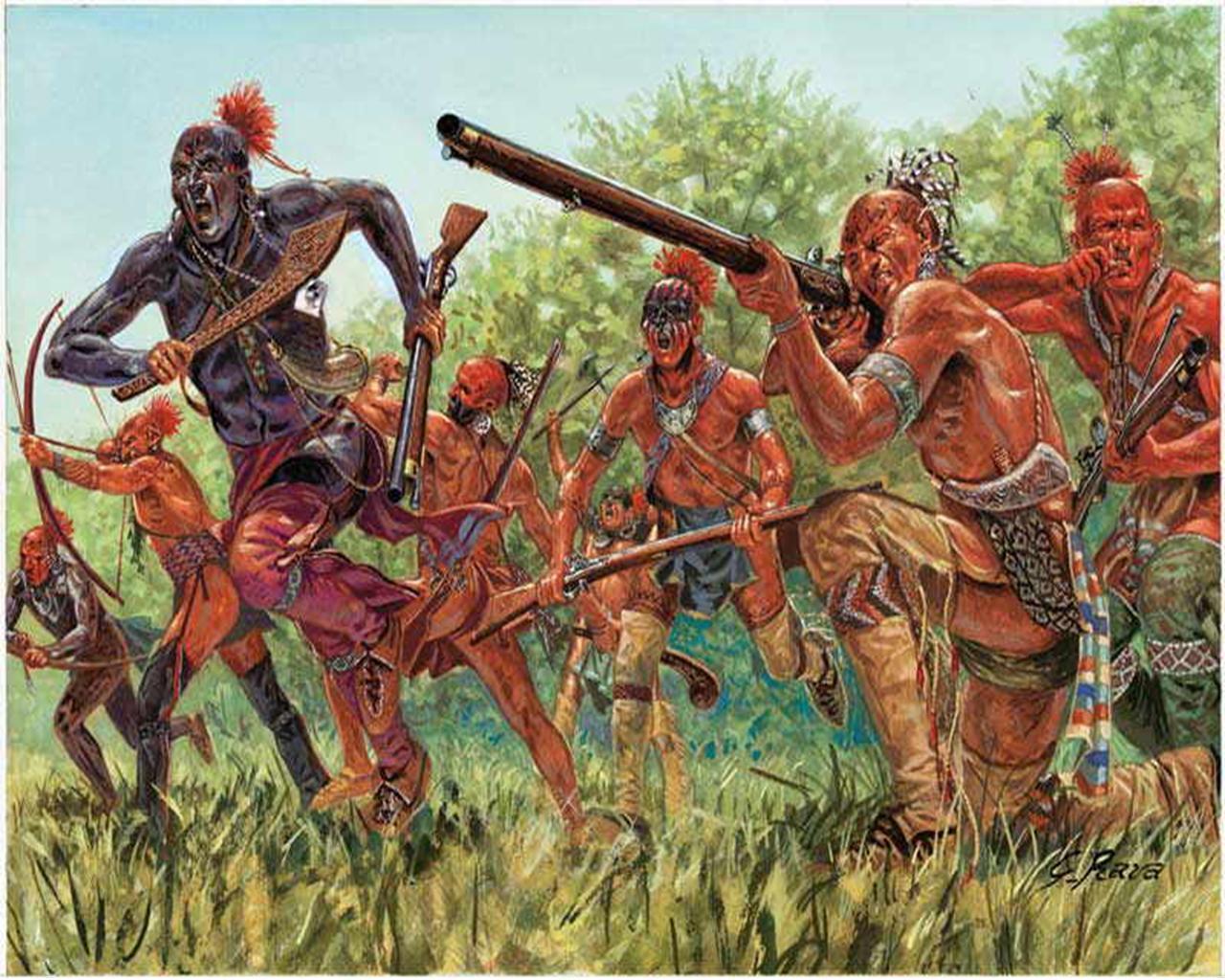 Засада индейцев