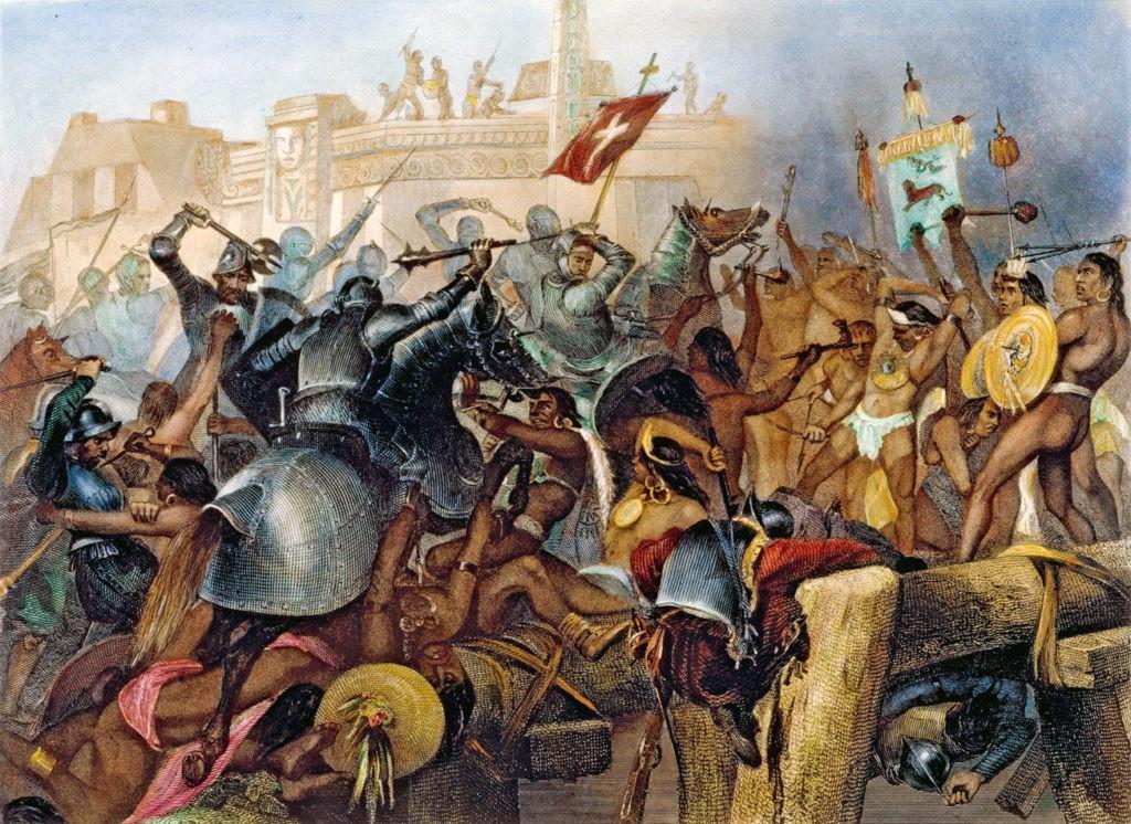 spanish aztec war