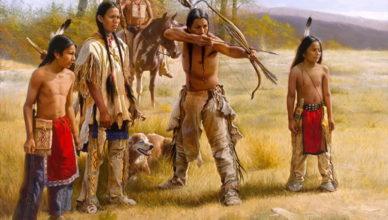 Индейцы стреляют из лука