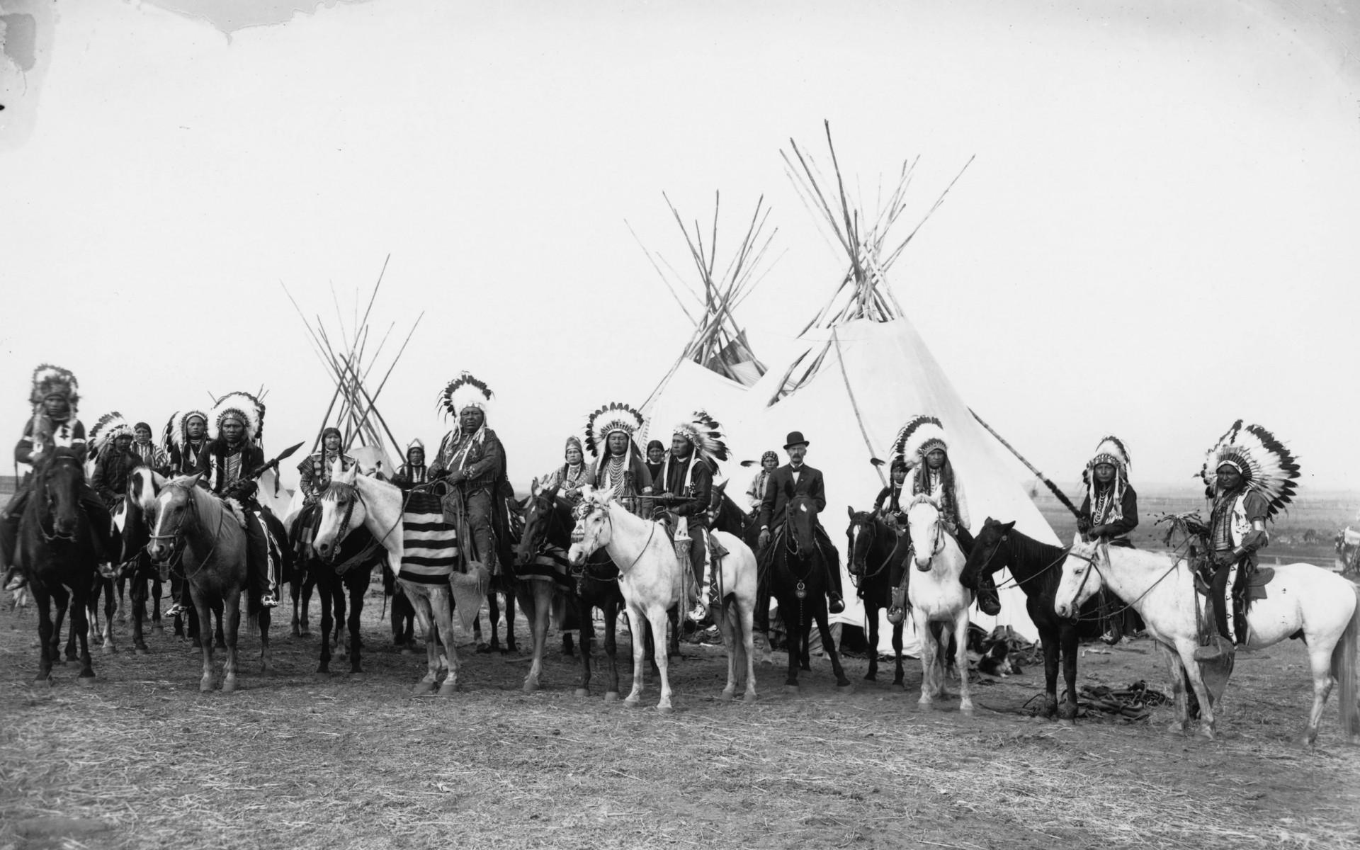 Индейцы едут в резервации