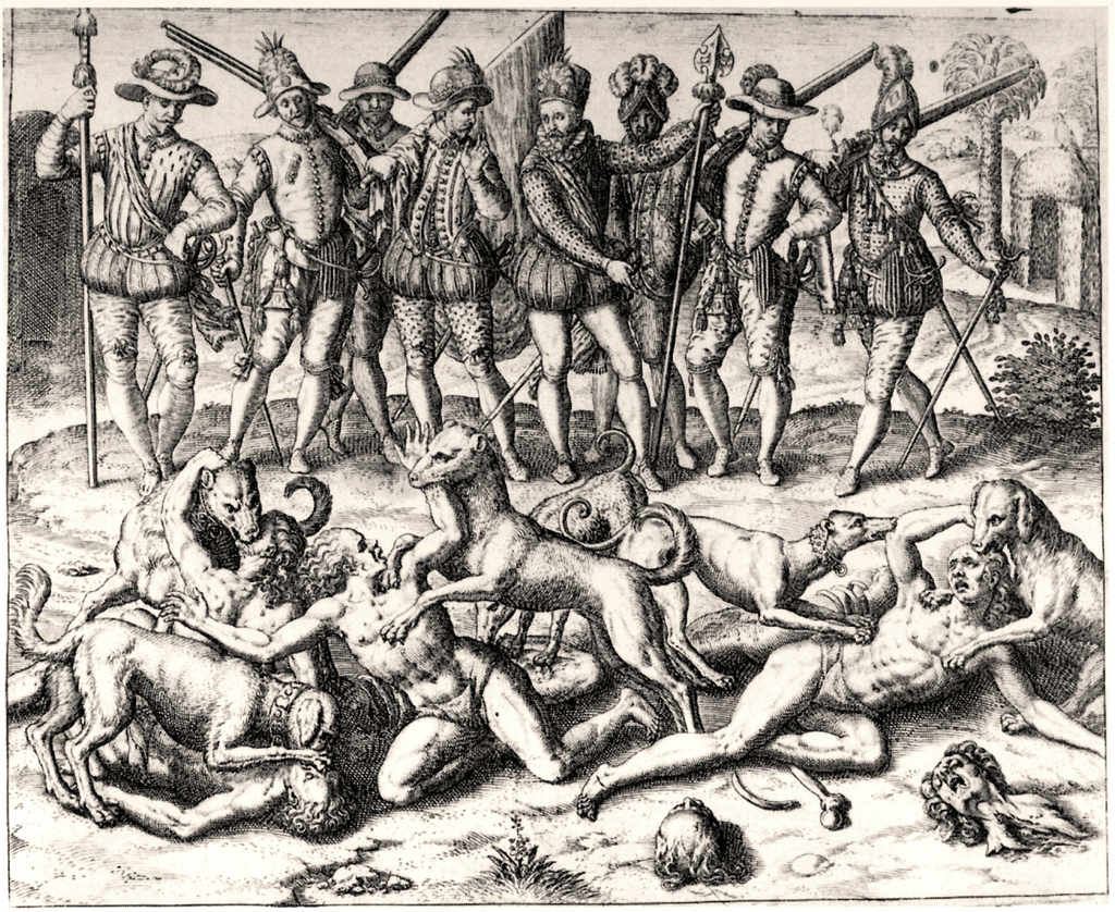 Казнь индейцев