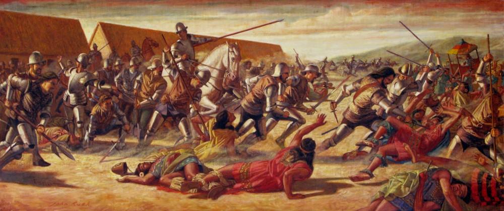 Испанцы идут за золотом индейцев