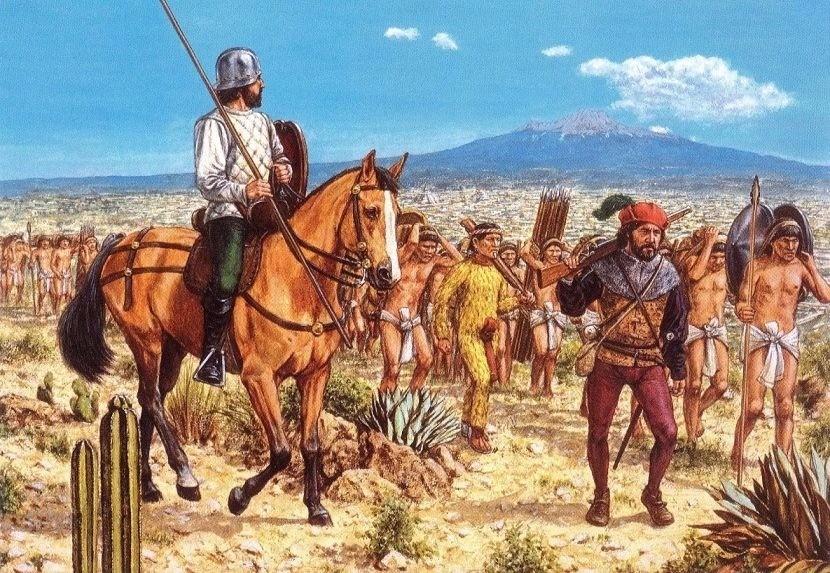 Испанские колонизаторы