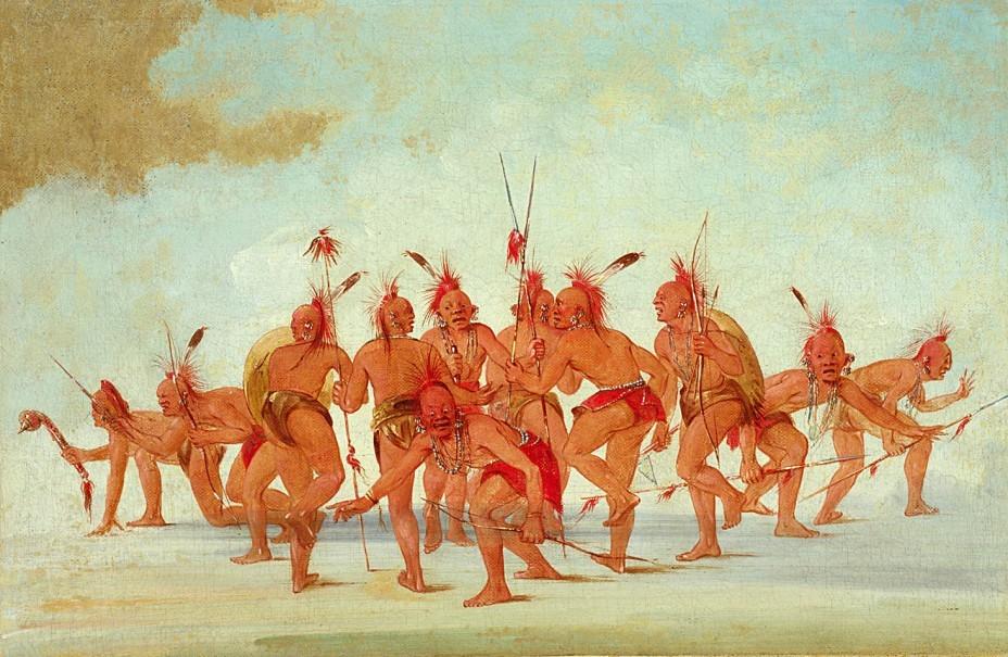 Танец индейцев