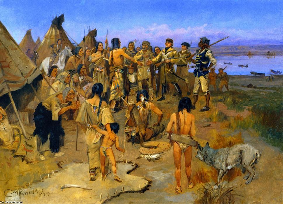 Торговцы и индейцы