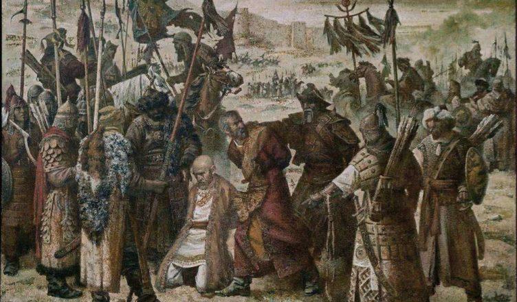 Столкновение Тамерлана и Тохтамыша на Тереке в 1395