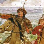 Тохтамыш хан отступает в Крым