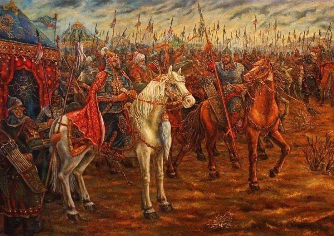 Решающие битвы Тамерлана