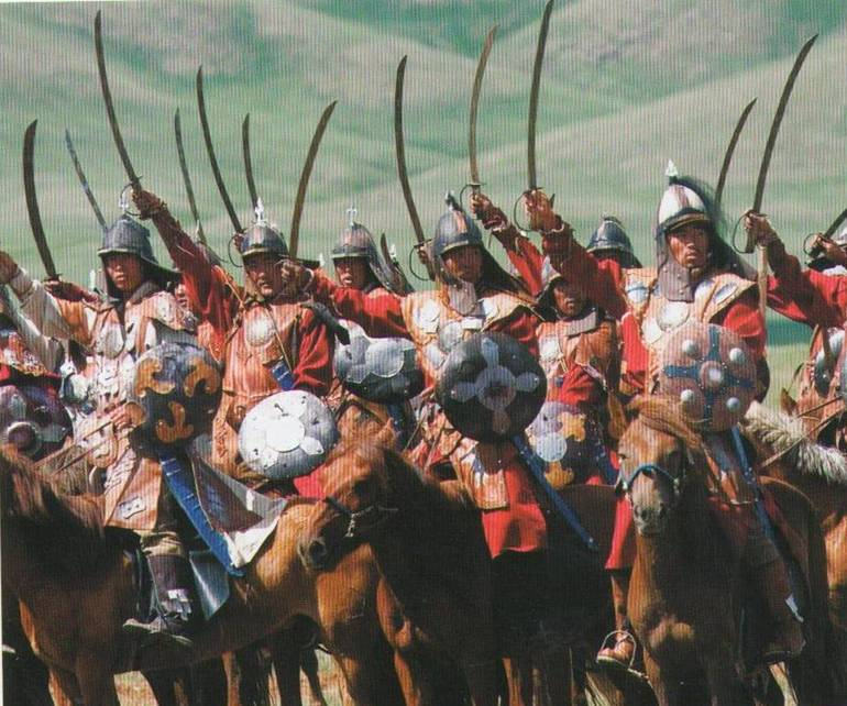 Начало битвы на Тереке