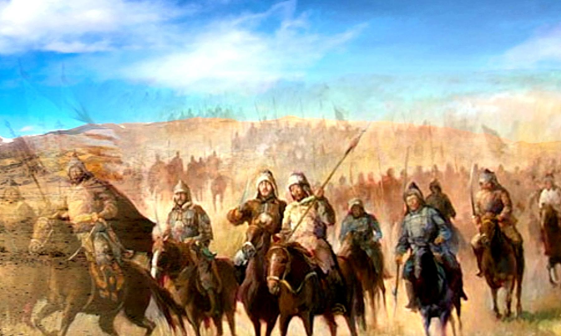 Зима, голод, ослабление войска Тамерлана