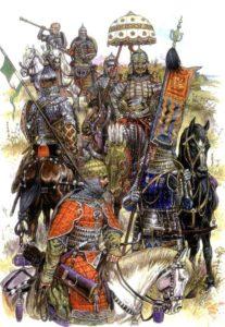 Моральное разложение войск Золотой Орды
