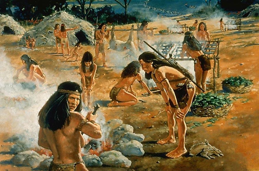 Индейцы рабы Южная Америка