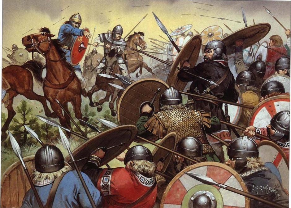 bitva na katalunskih polyah