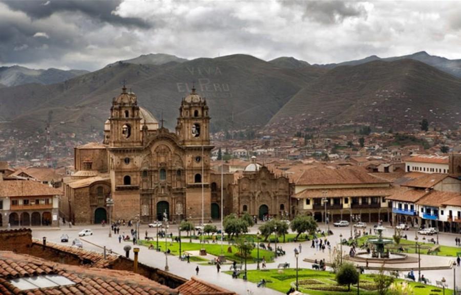 Город Куско Перу
