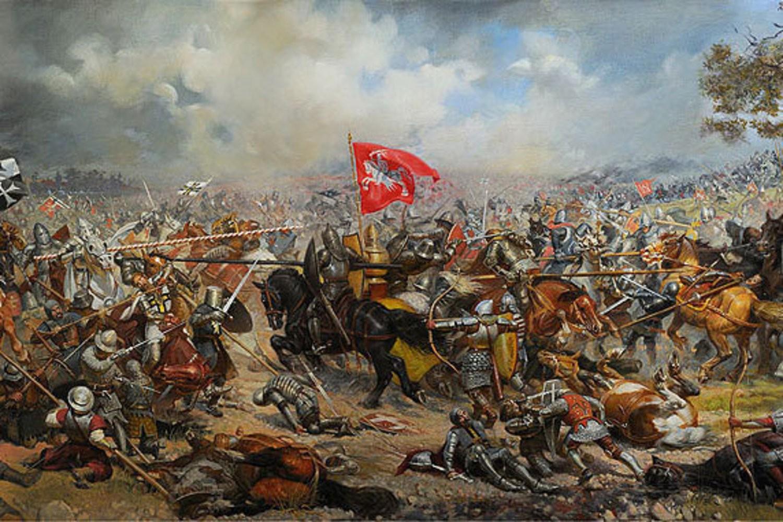 Начало битвы на Ворскле