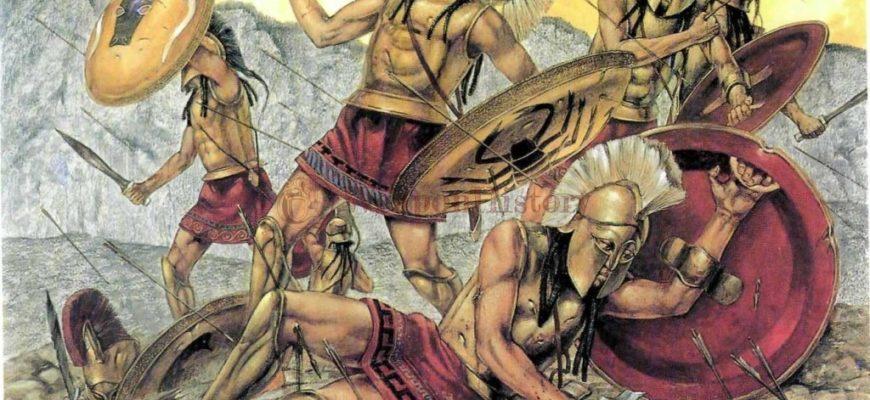 Как мудрец написал песню для идущих на смерть спартанцев