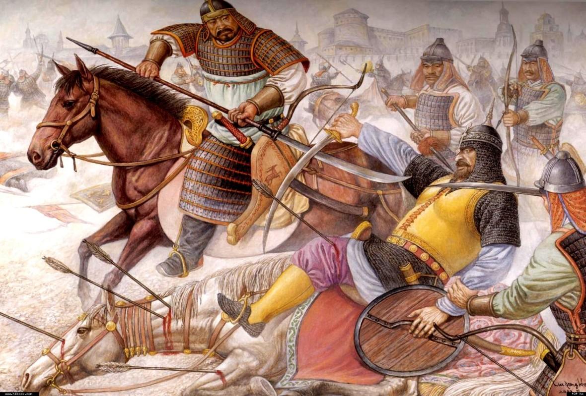 Вторжение монголов в Европу
