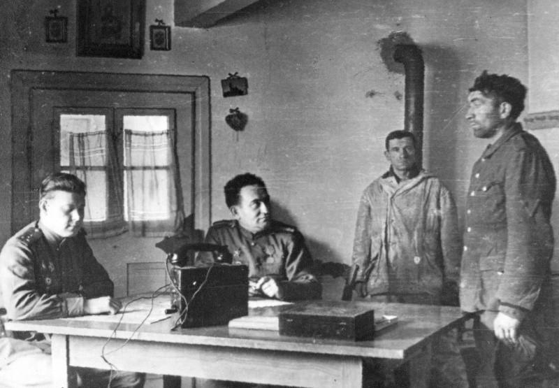 Допрос в комендатуре 1941 год