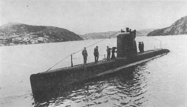Подводная лодка Балтийского флота