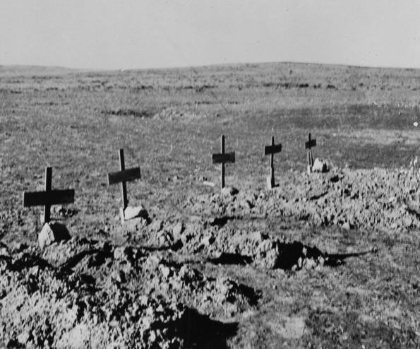 Солдатские могилы